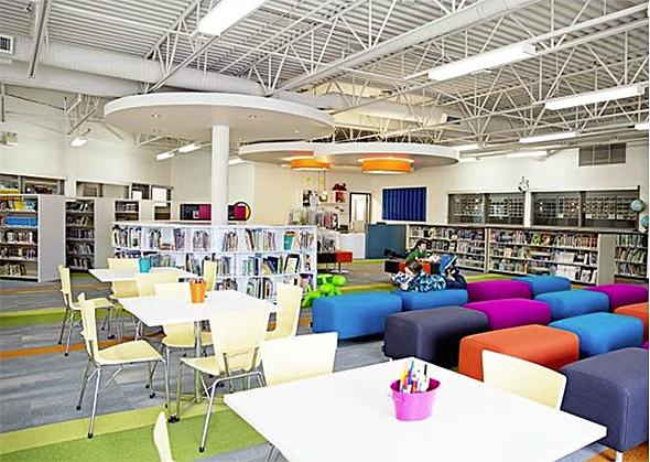 Lectura lab los premios al dise o de bibliotecas - Interior design schools in alabama ...