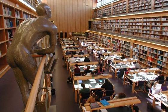 Portada  Biblioteca ULPGC